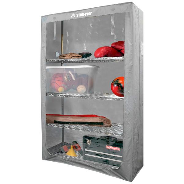 Stor-Pod Shelf Enclosure Grey