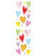 Sticker Sheets Sparkle Hearts Pkg/2