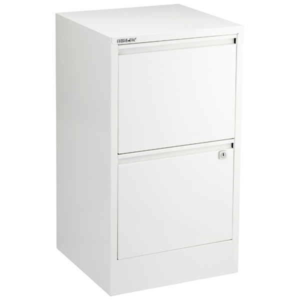bisley white 2 3 drawer locking filing cabinets the container store rh containerstore com 2 drawer file cabinet ikea 2 drawer file cabinet metal