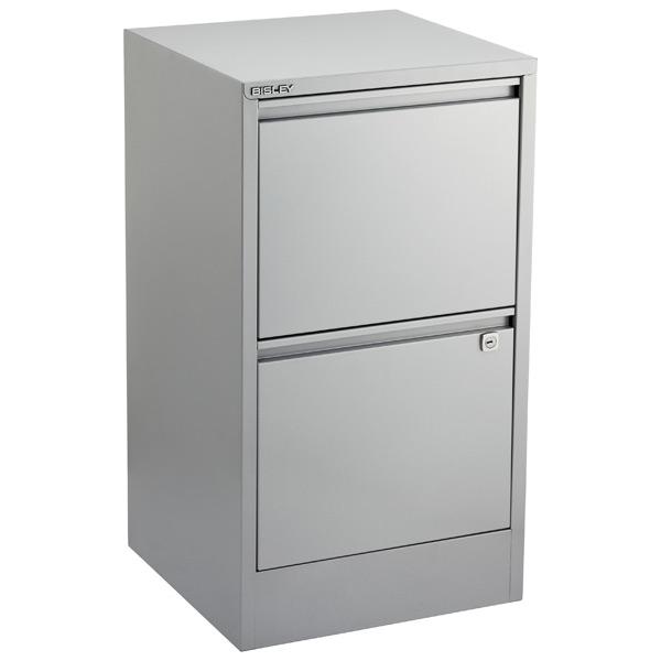 bisley silver 2 3 drawer locking filing cabinets the container rh containerstore com filing cabinet 2 drawer black filing cabinet 2 drawer black