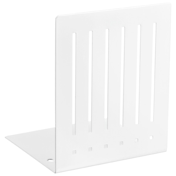 Mod Bookends White Pkg/2
