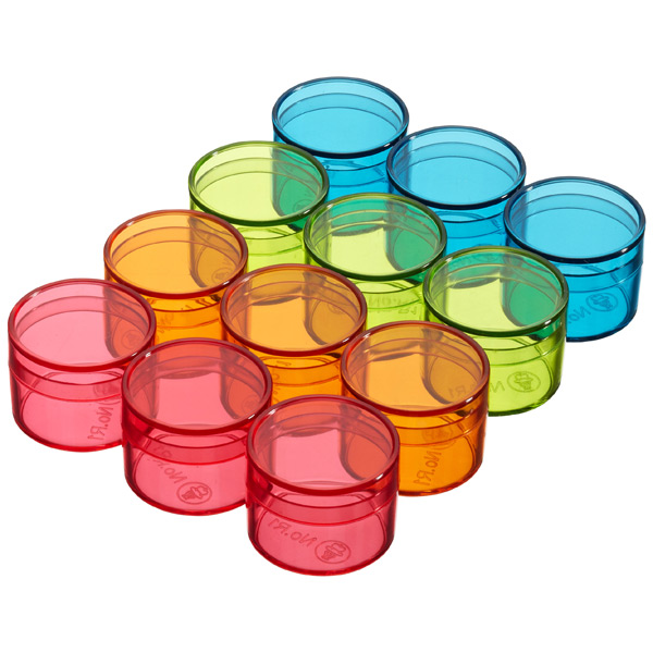 Mini Round Boxes Assorted Pkg/12