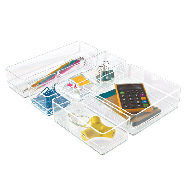 Acrylic Drawer Organizer Set The Container Store