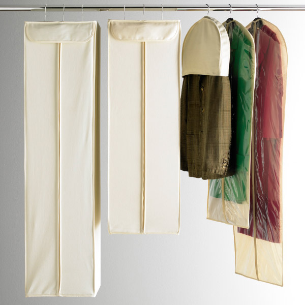 Suit Bags Dress Natural Cotton Hanging Storage The Container