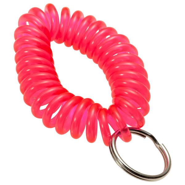 KeyCoil Wrist Chain Pink