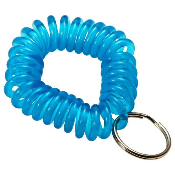KeyCoil Wrist Chain Blue