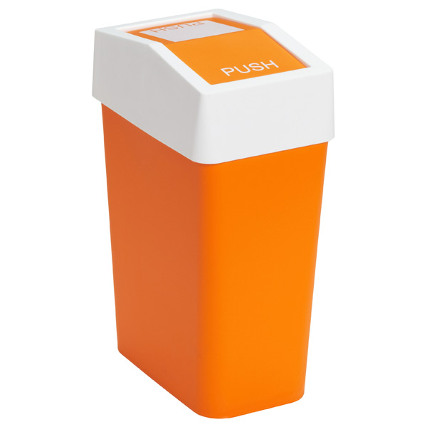 brite swing lid trash cans the container store. Black Bedroom Furniture Sets. Home Design Ideas