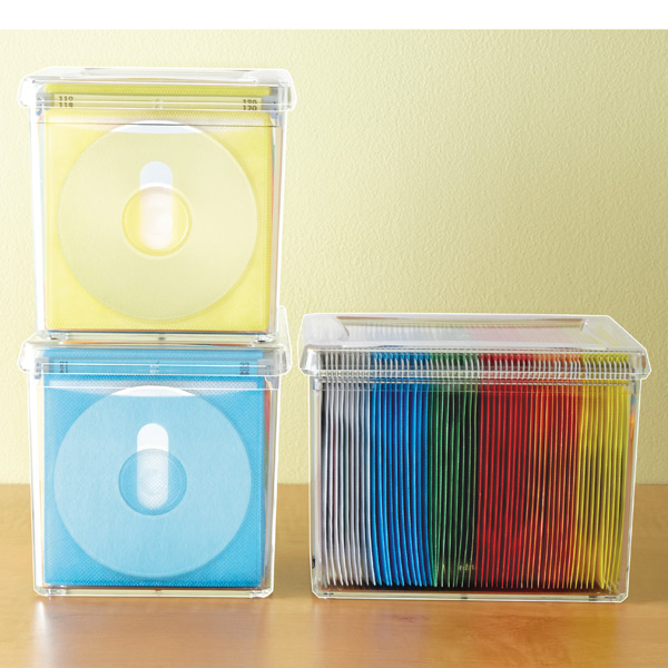 Incroyable 120 Disc Rainbow Acrylic Storage Box