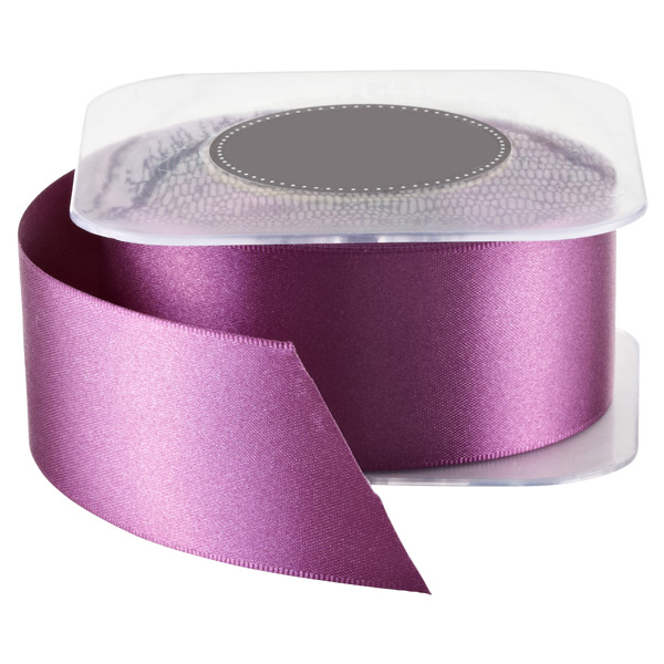 Beet Double-Face Satin Ribbon