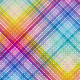 Rainbow Squares Wrapping Paper