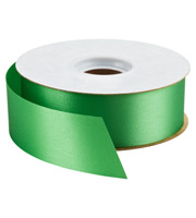 Christmas Green Bulk Satin Ribbon