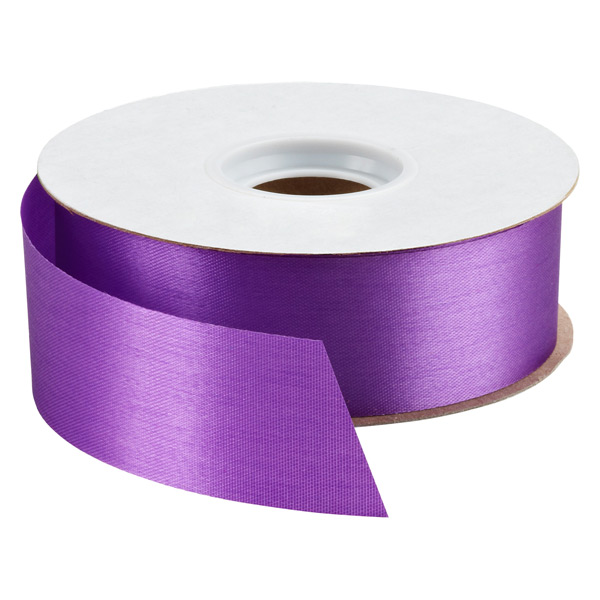 Purple Bulk Satin Ribbon