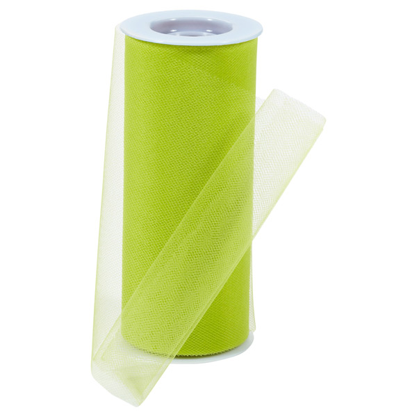 Lime Tulle Ribbon