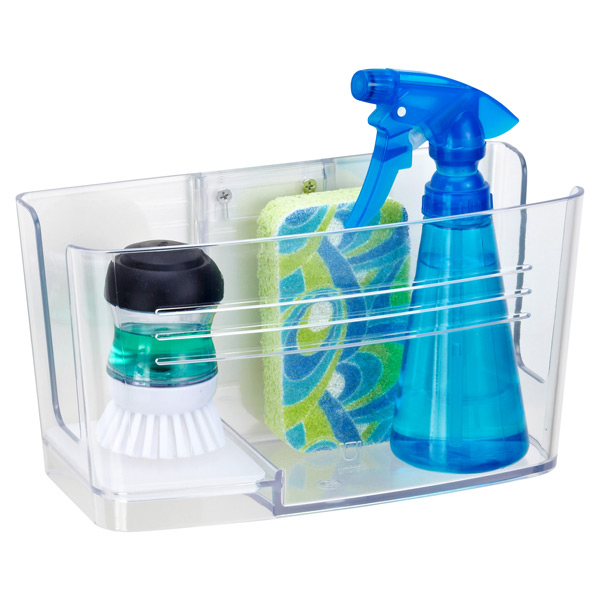 umbra hide n sink sink caddy the container store