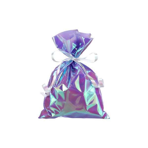 Small Iridescent Sacks Purple Pkg/10