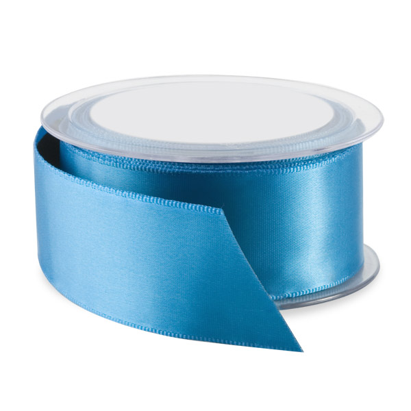 Kingfisher Double Satin Wired Ribbon