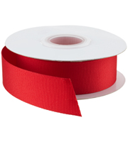 Red Grosgrain Ribbon