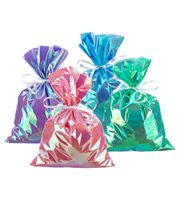 Large Iridescent Gift Sacks