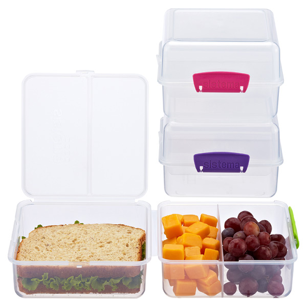 Sistema Klip-It Lunch Cube-to-Go Bento Box