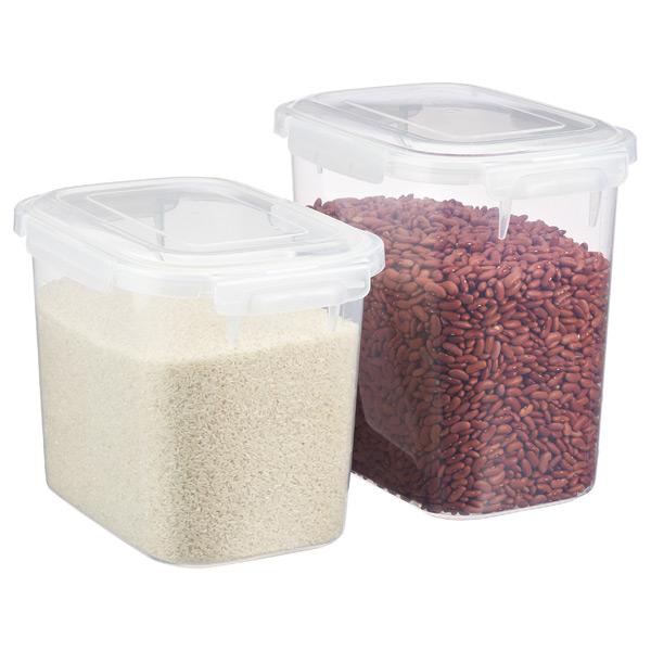 Lustroware Smart Locks Keep Boxes Bulk Food Storage