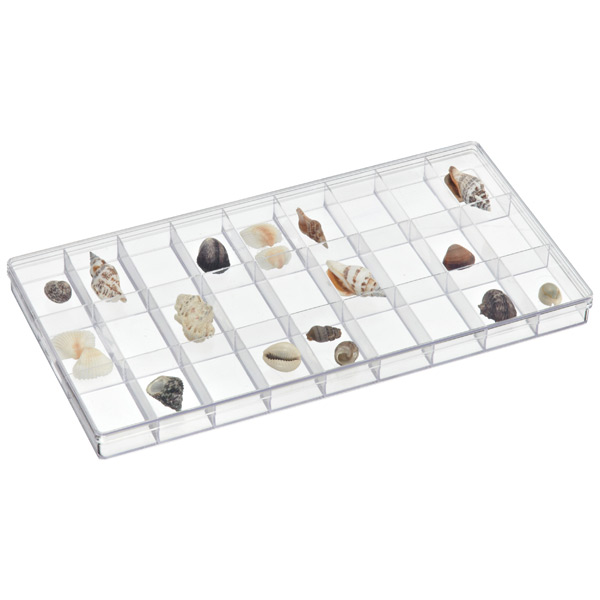 27-Compartment Box Clear