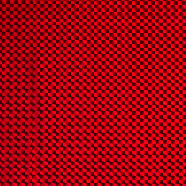 Jumbo Holographic Gift Bag Red
