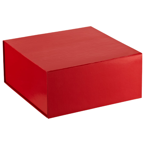 Collapsible Gift Box Red Glossy