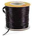 Black Pearl Raffia Ribbon
