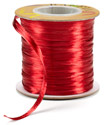 Red Pearl Raffia Ribbon