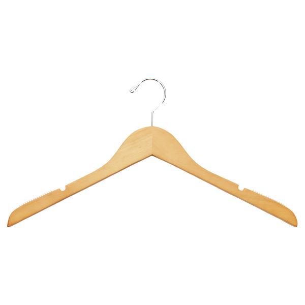 Basic Blouse Hanger Natural Pkg/6