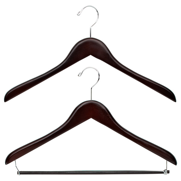 Premium Walnut Wood Hangers