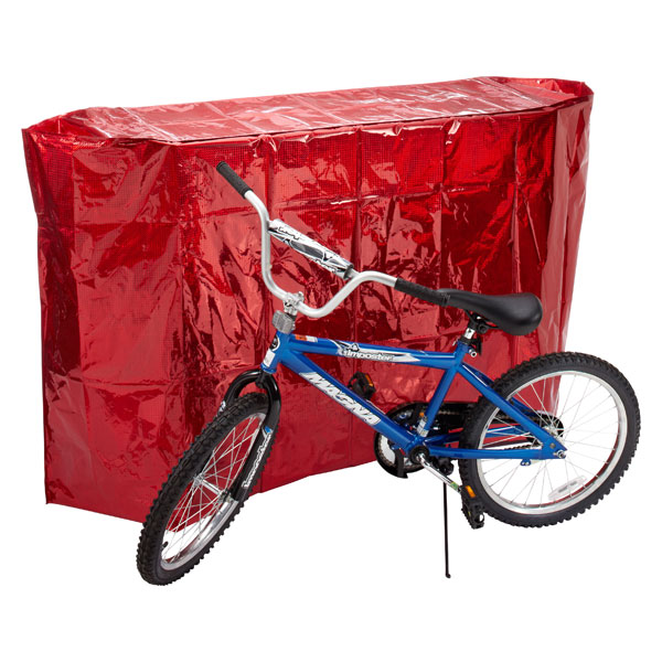 Red Holographic Bike Gift Bag