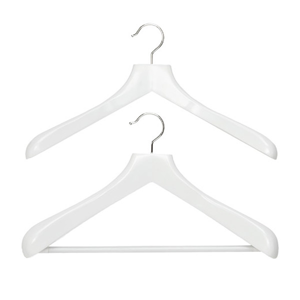 Superior White Wood Hangers
