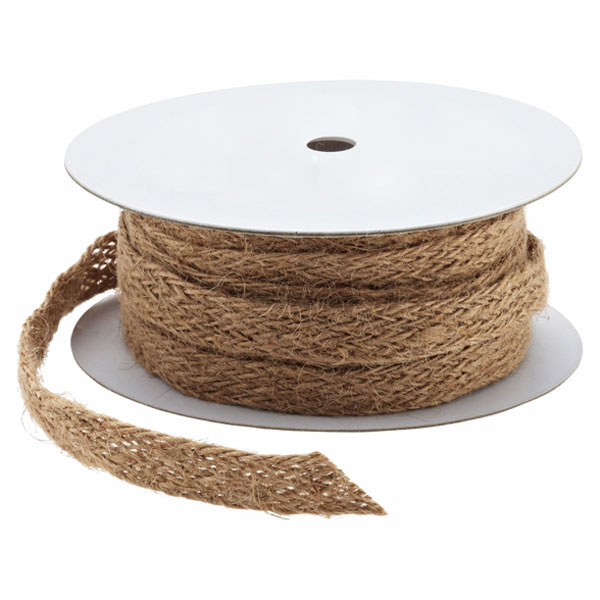 Natural Jute Weave Ribbon
