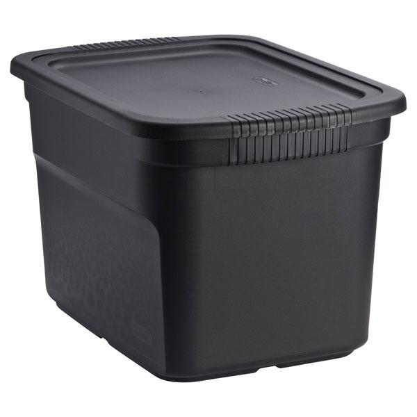 18 gal. Tote Box Black