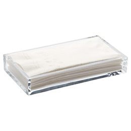 Acrylic Guest Towel Tray