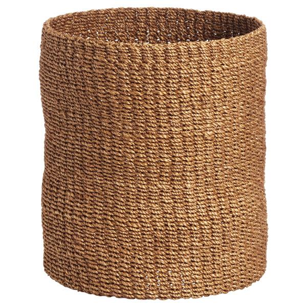 Makati Round Wastebasket Goldenrod