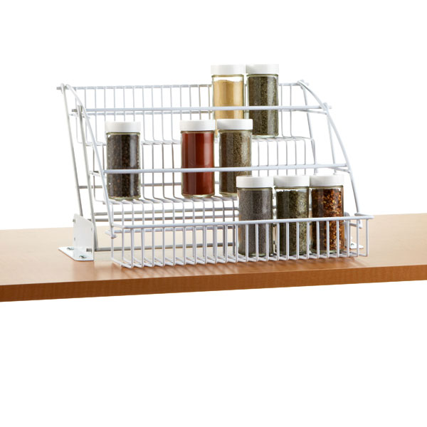 Pull Down Kitchen Cabinets: Rubbermaid Pull-Down Spice Rack