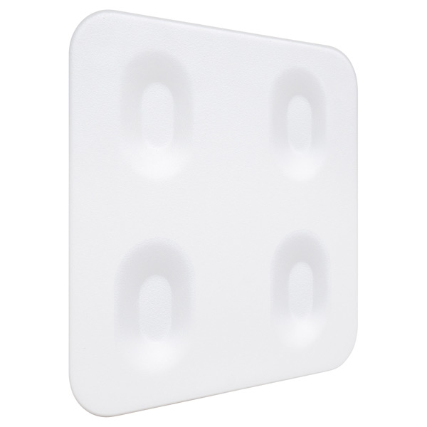 Urbio Wall Plate White