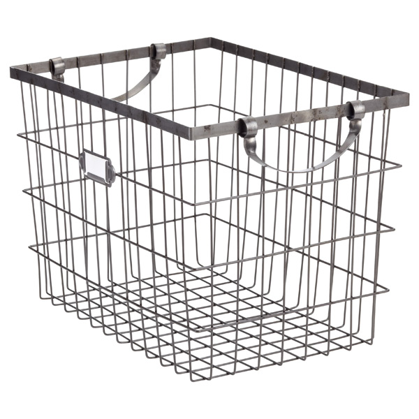 Harvest Wire Storage Baskets with Handles