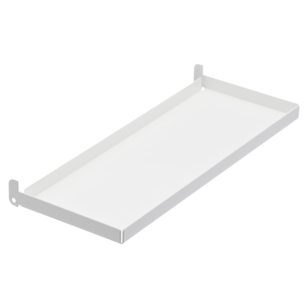 "4"" x 1'  x 1"" h elfa utility Board Tray White"