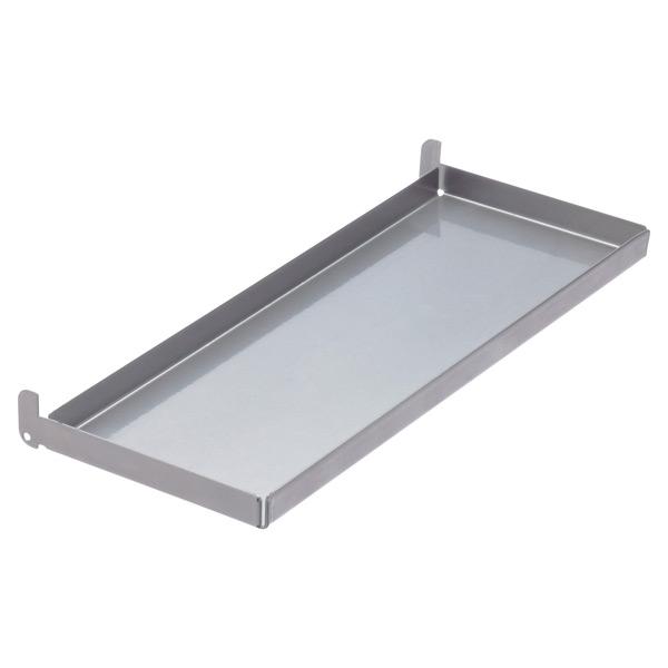 """4"""" x 1'  x 1"""" h elfa utility Board Tray Platinum"""