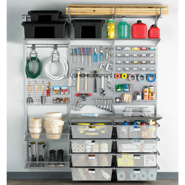 Kitchen Storage Ideas Youtube: Platinum Elfa Utility Boards