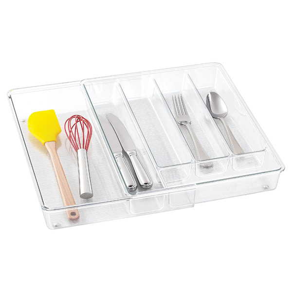 Linus Expandable Cutlery Organizer