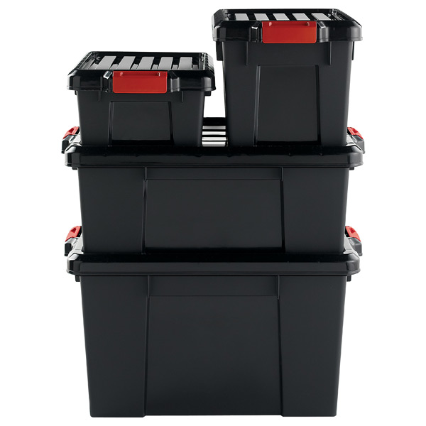 garage storage containers it all totes the container 15738