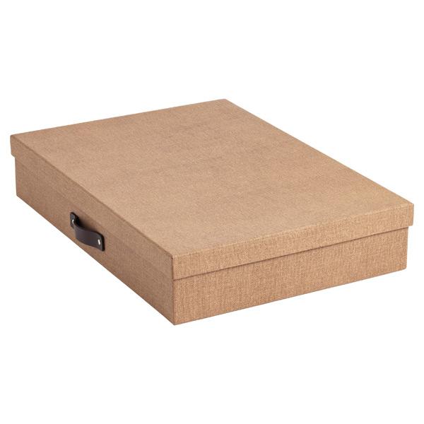 Bigso Marten Document Box Chestnut
