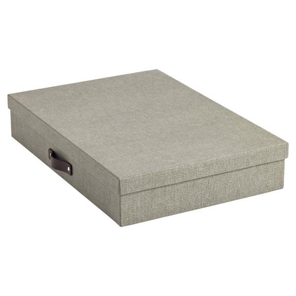Bigso Marten Document Box Grey