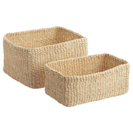 Natural Makati Storage Bins