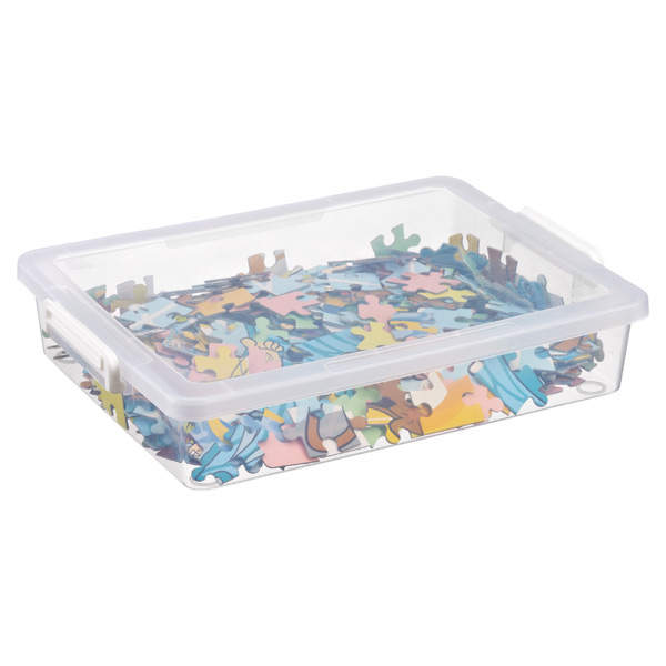 Large Latch Box Clear