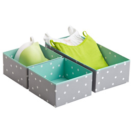 Blue Bigso Pippi Drawer Organizers
